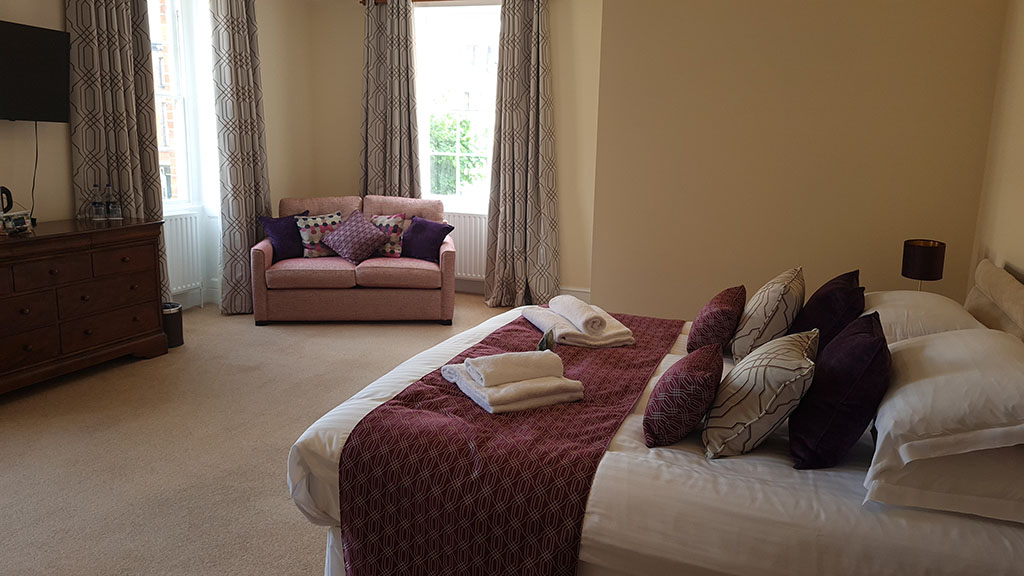 Interior of Cambrian room at Trewythen Hotel